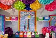 classroom organization & decoration
