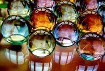Marbles / Canicas / Marbles, canicas, bolas cristal de colores.