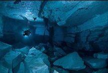 Cave Diving / #scuba #diving #cavediving #cenotes