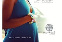 Tracy Nicole Clothing Transitional Wear with Terri J. Vaughn / Transitional Wear  Transition – the process or period of changing from one state or condition to another.  Every woman goes through a transition at some point in her life. Pregnancy, weight loss, weight gain, even surgery.  Tracy Nicole Clothing has ideal pieces when going through either of these transitions.