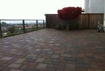Patios and Pool Decks / CastleLite Pavers provide styling that is perfect for walkways, patios, pool decks, and more. Rich colors and multiple shapes and patterns complement any space and provide the versatility to create dynamic designs that are distinctly yours. The durability of our pavers makes them virtually maintenance free.