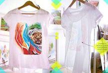 Camisetas *vivedeveras* / ropa con diseño y dibujos *deveras*