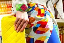 Tourbillon de couleur / La couleur pour une mode qui pulse !