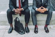 Dapper Dan / A board dedicated to mens style. Workout to look good dressed up I say.