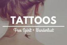 Free Spirit + Wanderlust Tattoos