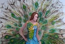 Brent Coffin : Artwork / Oil paintings and One-of-a-kind dresses designed and hand made by Newfoundland Artist, Brent Coffin.
