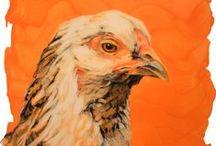 Sarah Hillock : Artwork / A collection of Sarah Hillock's beautiful portraits of animals.