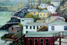 Sue Miller : Artwork / Oil painting by artist, Sue Miller
