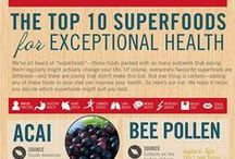 Nutrition Infographics / Nutritional information and tips