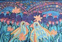 Toby Rabinowitz : Artwork / Artwork by Newfoundland artist, Toby Rabinowitz