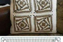 Crochê com gráfico / Pontos e peças em crochê