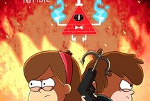 Gravity Falls ( Dippy <3 ) / My favorite ...  My life...  Gravity Falls..  Two deviantart~ •Markmak •CheeryViolets