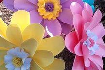 Hobbylerim Paper Flowers Kağıt Çiçekler