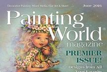 June 2016 Issue of Painting World Magazine / The Premier issue of the new Painting World Magazine was a smashing success! They're sold out now, but we wanted to showcase the great artwork that was in it so you can get an idea of the sort of talent that comes in every issue.   Get subscribed today at https://paintingworldmag.com/