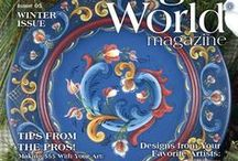 December 2016 Issue Painting World Magazine / 96 pages, full color printed magazine; 12 gorgeous projects and 3 educational editorials from your favorite artists! Includes work by: Judy Diephouse (Cover artist), Deb Antonick, Debbie Cole, Kelly Hoernig, Margaret Riley, Nancy Scott, Tracy Weinzapfel, Patty Stouffer, Bobbie Takashima, Helena Rizzaro Andrejev, Barb Bunsey, Thelma Hamilton, Linda Hollander, and Shara Reiner!