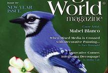 February 2017 New Year Issue of Painting World Magazine