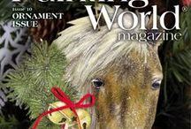 October 2017 Issue Painting World Magazine / This 96 page, full-color beautiful printed magazine has 10 how-to lessons from your favorite decorative artists including: Sherry C. Nelson (cover), Debbie Cole, Barbara Nielsen, Marlene Fudge, Chris Haughey, Tracy Moreau, Phyllis Spaw, Sonja Richardson, Karen Wisner-Dyar, and Deb Antonick!