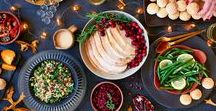 Thanksgiving Inspiration / Whether you're a fan of traditional Thanksgiving dinner foods like turkey and mashed potatoes or looking to get creative, these Thanksgiving recipes will get the job done! #thanksgiving #thanksgivingrecipes #thanksgivingfood #glutenfree