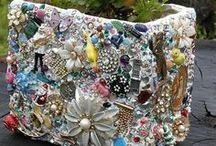 Mosaic - Pique Assiette / by Karen Hickerson ~ Bohemian Babe Art