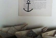 La mar. / Barcos y anclas.