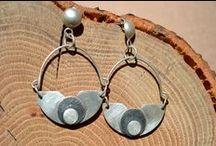 Biżuteria srebrna. Silver jewelry.