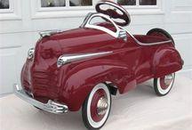 Peddle Cars & Coaster Wagons / If it's got wheels !!!!!!! / by Randy Cobb