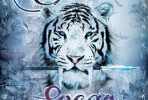 Pretty Tigers! / I like tigers, you like tigers! To celebrate the mysterious saber tooth tiger of legend on the cover of The Silver Spear (http://igg.me/at/silverspear), here's a collection of pretty tigers to enjoy!