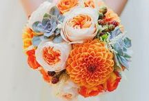 Orange Wedding Ideas / by Lanier Islands Weddings