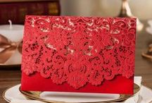 Red Wedding Ideas / by Lanier Islands Weddings