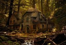 Hobbit House / Peep and Bunny's hobbit house (future) #magicforest #eco #sexy #cushions #DJCADIED