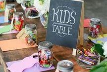 Table enfants mariage / by Mes Petits Packagings