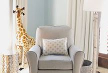 Safari Nursery / Lions, tigers and bears...oh my!  Get ready for an adventure in this safari themed nursery.
