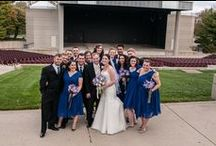 Fraze Pavilion Wedding Photography Ideas / Fraze Pavilion is an ideal backdrop for wedding photos in the Dayton Ohio area. Although the concert stage at Fraze Pavilion is not accessible, the concourse and Lincoln Park areas are open to the public on non-concert days.