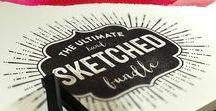 geschrieben / #Handlettering #Schreiben #Schönschreiben #Schönschrift #ChalkArt #Typografie #Typo #Text #Hand #Sketch #Illu