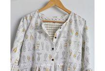 Cotton Dress Chhapa
