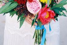 bouquets e lapela