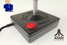 Atari Controller mark II / Árcades e consoles