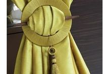 Houles / Beautiful ties and hold backs to help make your curtains and drapes stand out. Give us a call on 0800 808 300 (NZ only) for a free in home design consultation or visit www.russellscurtains.co.nz