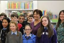 School Visits / Our authors brightening up a few students' days