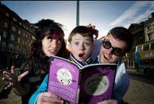 Dublin's READing the Nightmare Club / Dublin's Reading The Nightmare Club, the second Citywide Reading initiative organized by Dublin UNESCO City of Litrature to encourage Dublin children to read for pleasure