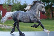Custom model horses by Frosty Birch Studio / Customized model horses since 2011