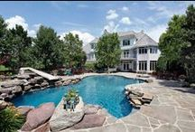 Awesome Inground Pool Designs / A collection of beautiful, cool, or just plain interesting inground pool designs.