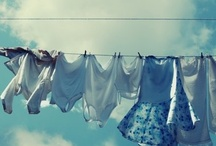 clothes hanging and other skies