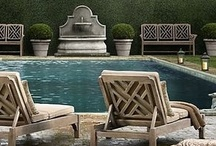 Pool Patio Ideas / Pictures to inspire you when planning - or just daydreaming about - an amazing patio.