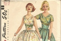 Vintage patterns / I just love the images and ideas