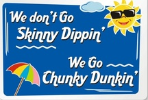 Funny Swimming Pool Signs / Collection of humorous swimming pool signs for your amusement.