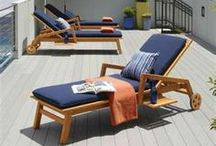 Pool Furniture Ideas / Beautiful outdoor furniture for your pool deck.