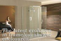 Frameless Shower Screens / Bespoke Frameless Shower Screens