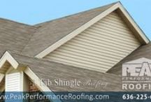 Asphalt Shingle Residential Roofing / Asphalt shingles are the most widely used residential roofing material. They are available in a large variety of colors, styles, and textures.