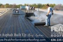 Commercial Roof Systems / PEAK PERFORMANCE Roofing is vastly equipped with the knowledge and expertise to evaluate and recommend a roofing solution that will meet your needs. We offer a variety of commercial roof services ranging from roof repairs and maintenance to installation of new systems such as EPDM, TPO & PVC, Asphalt shingles, Modified, and Built up hot asphalt roofs. Our roof professionals are well qualified and very experienced at installing and maintaining all of these roof systems.